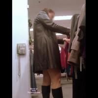 Short Dress In Public