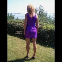 *Su Lynn'S New Purple Dress