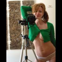 Self-shot Taken In The Mirror - Camel Toe, Large Breasts, Milf, Self Shot, Naked Girl, Nude Amateur